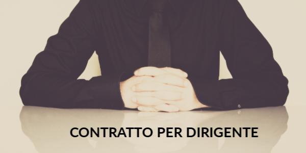 contratto per dirigente