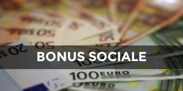 bonus sociale 2020