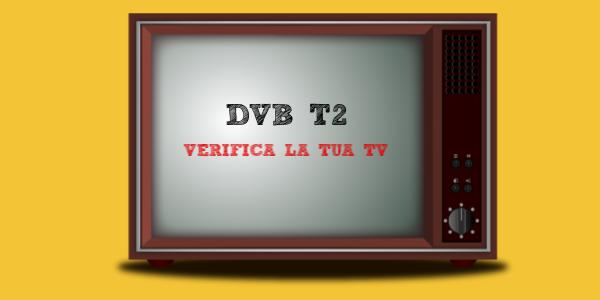 DVB-T2 verifica tv canali test