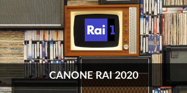 canone rai 2020