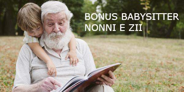 bonus babysitter nonno zii