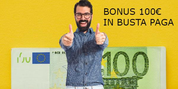 bonus irpef 100 euro busta paga