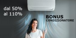 Bonus condizionatori 2020: ecobonus 110% 65% 50%, come funziona
