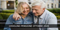 Pagamento Cedolino Pensione Ottobre 2020
