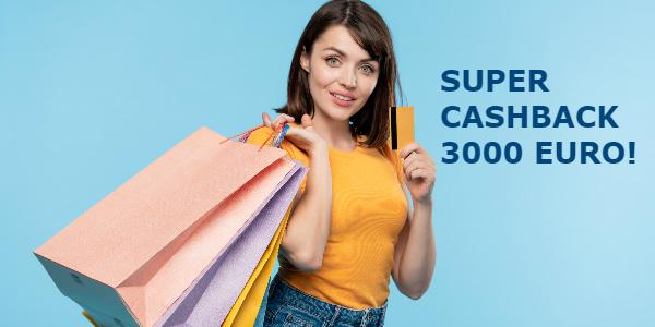 super cashback 3000 euro