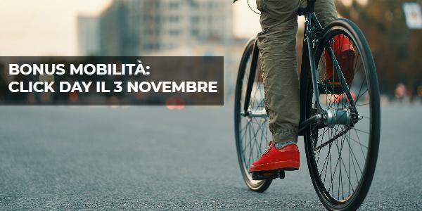 Bonus bici: click day il 3 novembre 2020