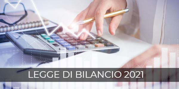 Legge di Bilancio 2021: le novità fiscali